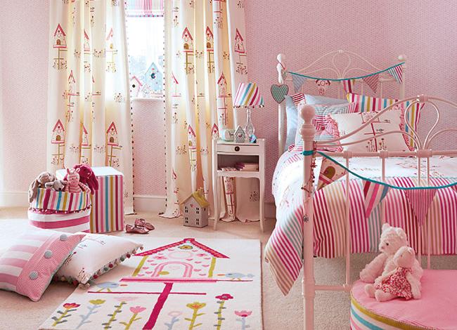 Cortinas habitaciones niños - Villalba Interiorismo