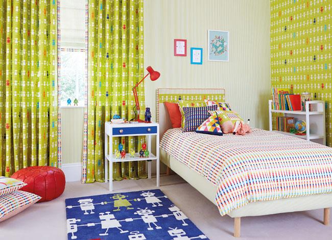Cortinas para habitación de niños - Villalba Interiorismo (2)