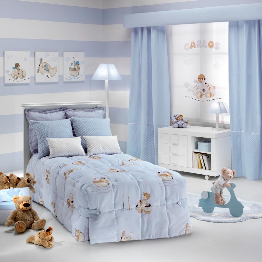 Cortinas para habitaciones infantiles - Villalba Interiorismo (3)