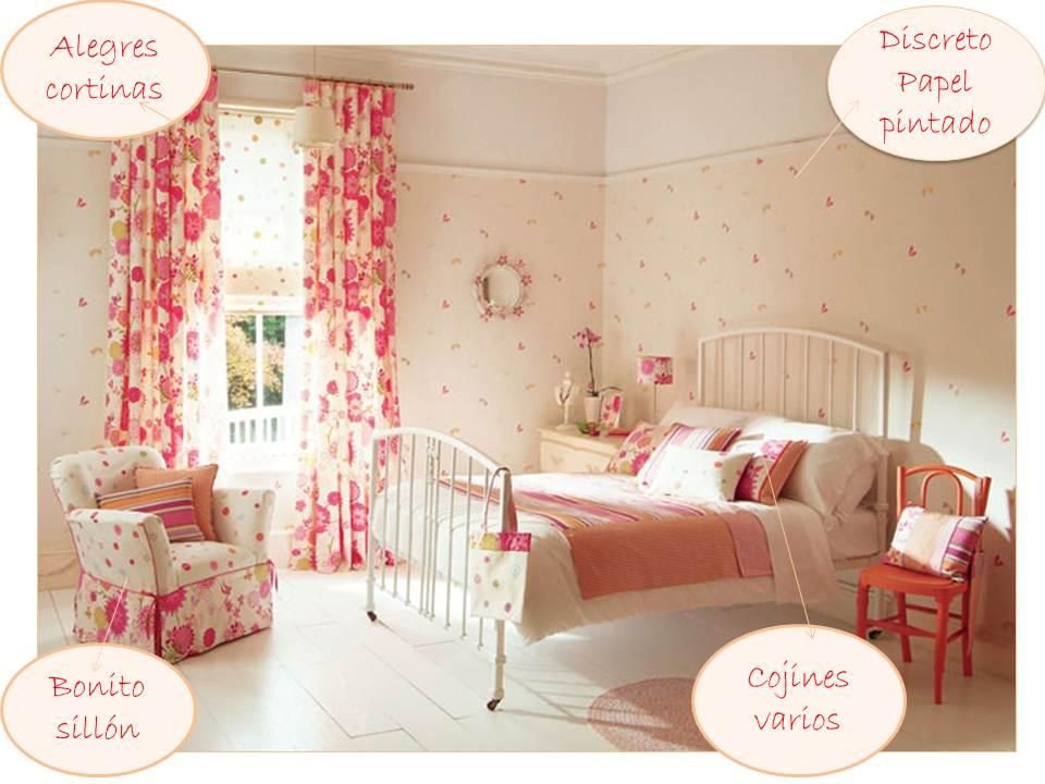 Un dormitorio flower power villalba interiorismo - Villalba interiorismo ...