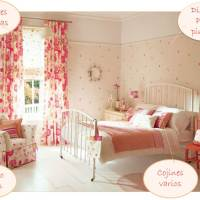 "Un dormitorio ""Flower power"""
