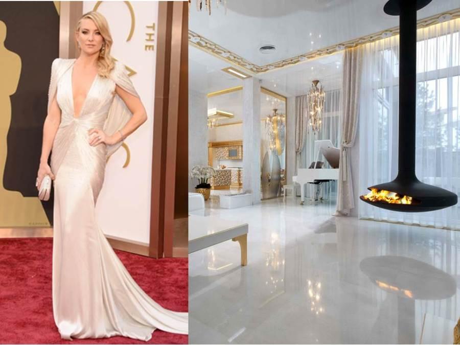 Kate Hudson y decoración glamour - Villalba Interiorismo