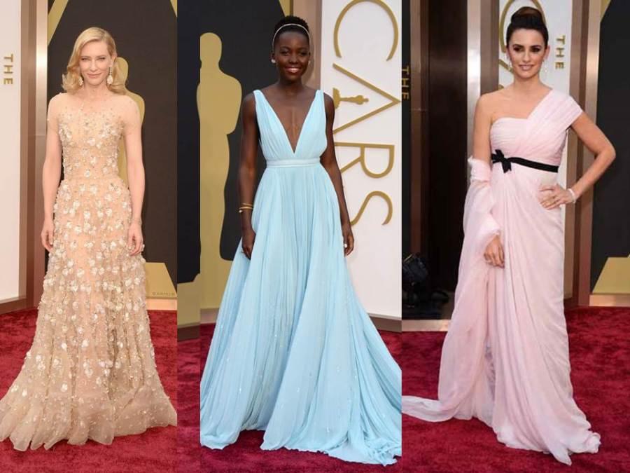 Las mejores vestidas en los Oscars de 2014 - Villalba Interiorismo