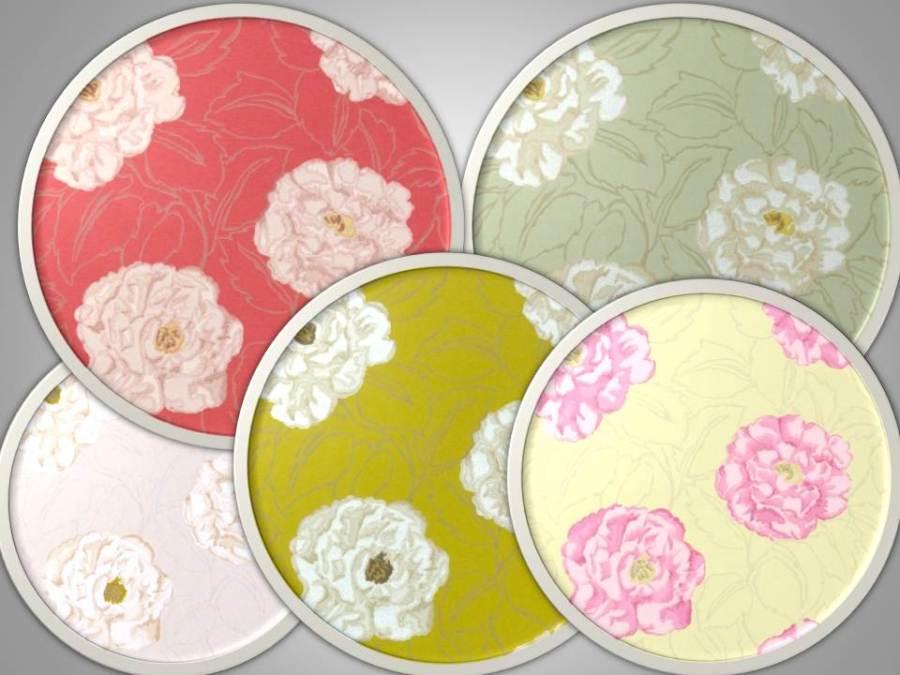 Papel pintado flores - Villalba Interiorismo (2)