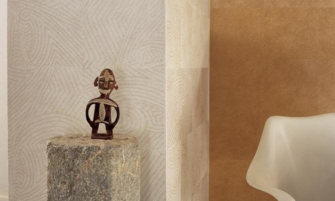 Papeles pintados con textura de piel - Villalba Interiorismo (2)