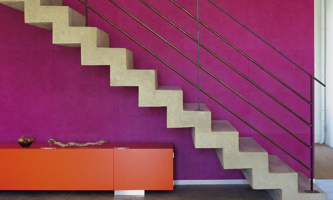 Hurter Designers Tapeten : ism Descamps Decoratie Z-trap Eik 1? keuze Glasbalustrade