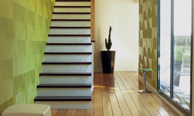 Papeles pintados con textura de piel - Villalba Interiorismo (5)