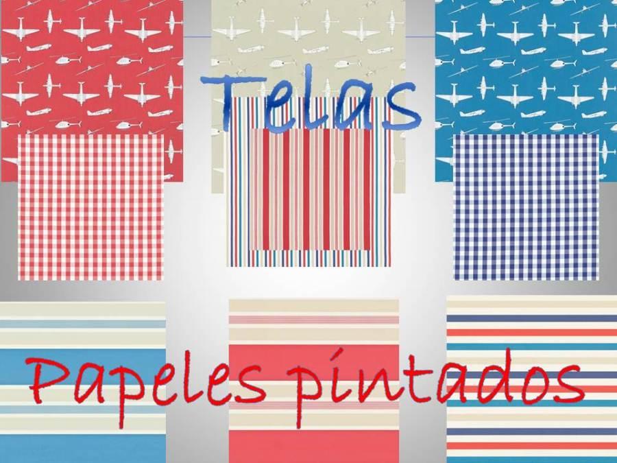 Telas y papeles pintados para niños - Villalba Interiorismo (2)