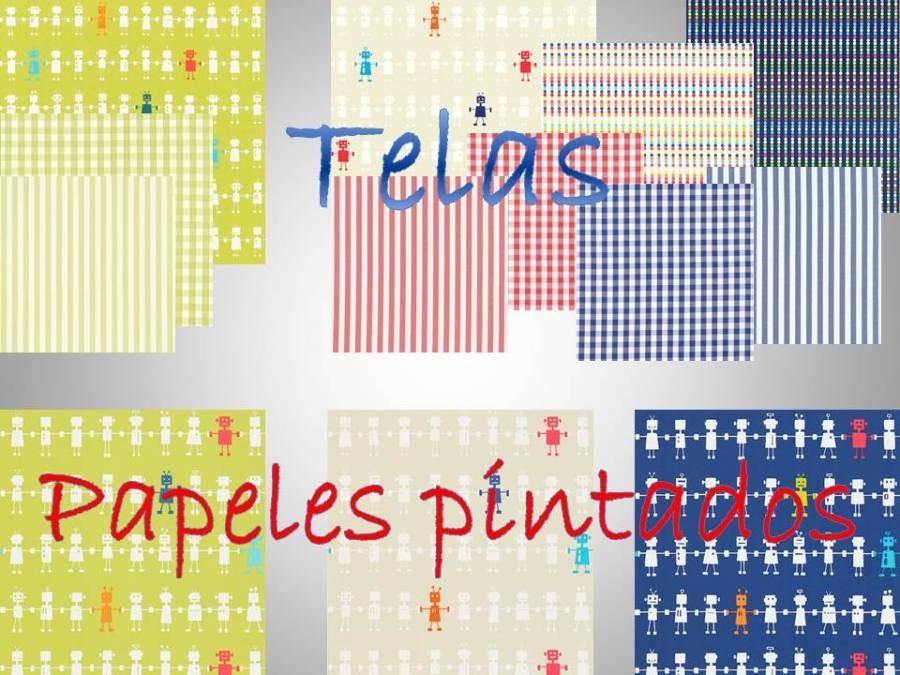 Telas y papeles pintados para niños - Villalba Interiorismo