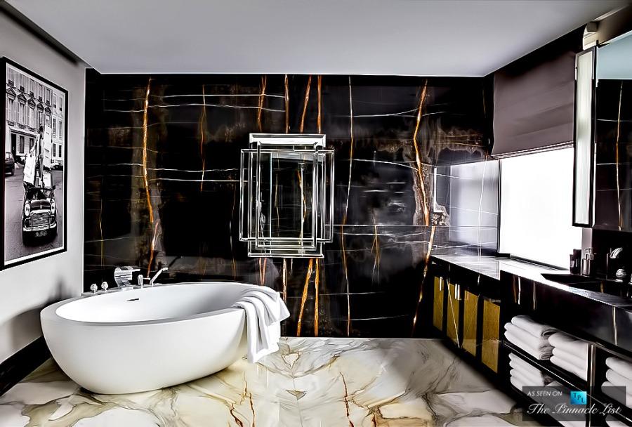 Baño de lujo - Villalba Interiorismo