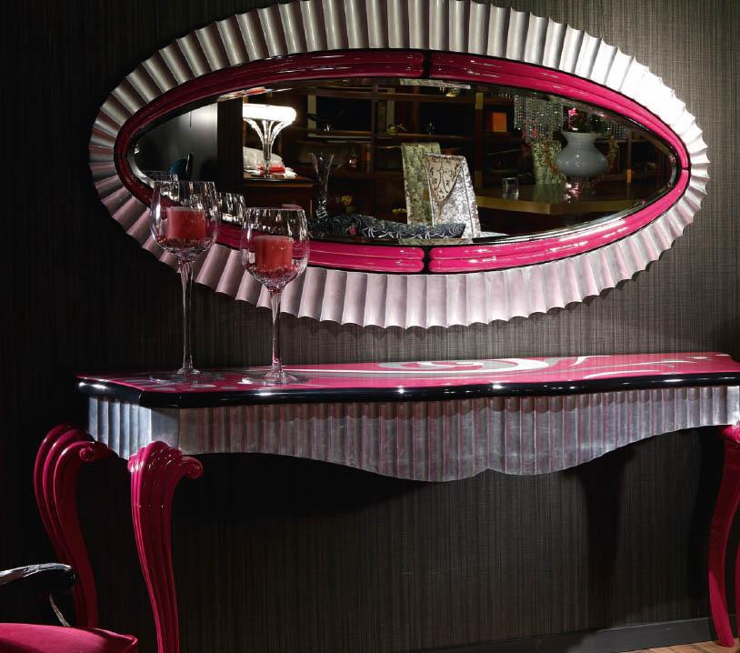 Consola y espejo de Tecni nova - Villalba Interiorismo