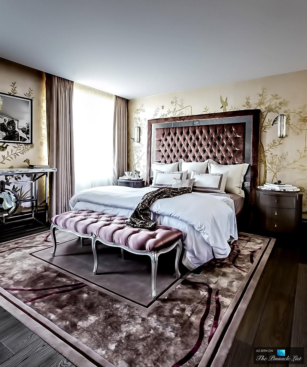 Un dormitorio de lujo villalba interiorismo - Interiorismo dormitorios ...