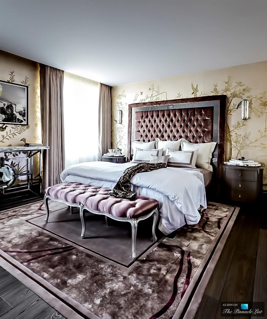Un dormitorio de lujo villalba interiorismo - Villalba interiorismo ...