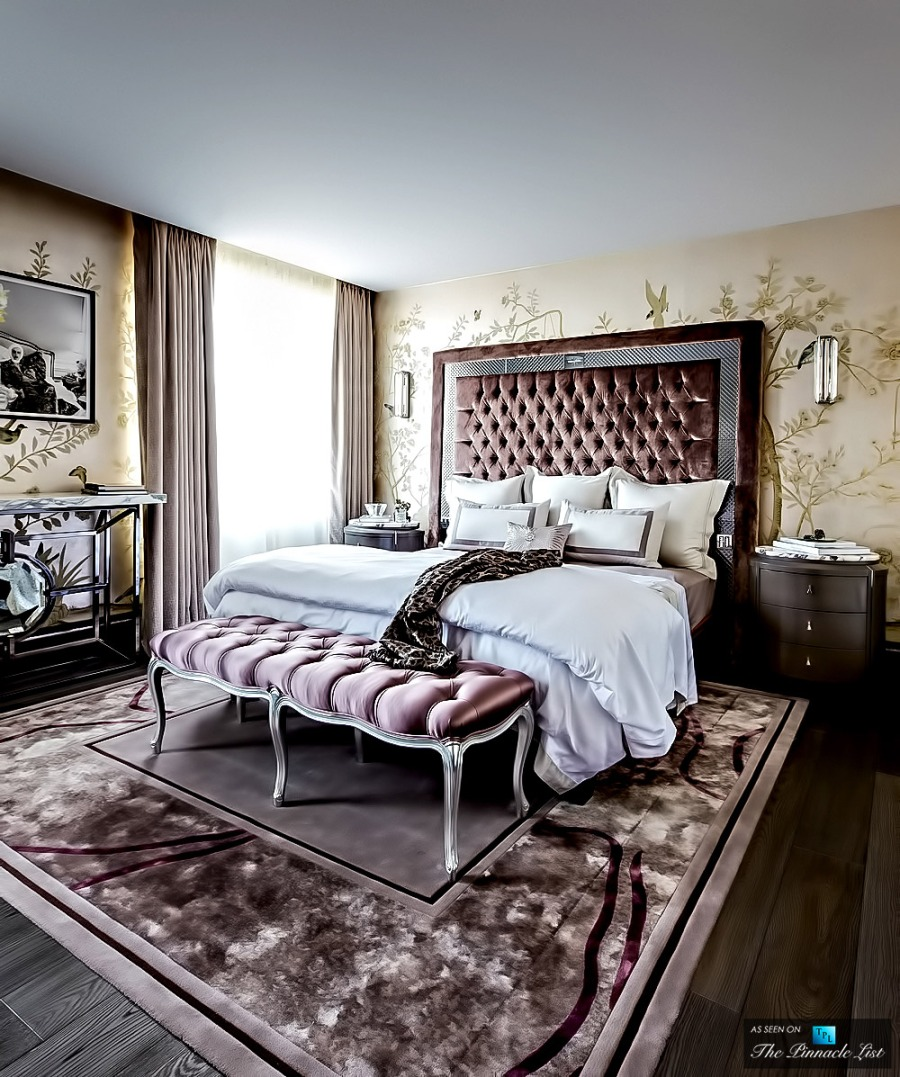 Un dormitorio de lujo villalba interiorismo for Interiorismo