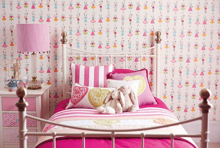 Dormitorio de niñas Harlequin - Villalba Interiorismo (2)