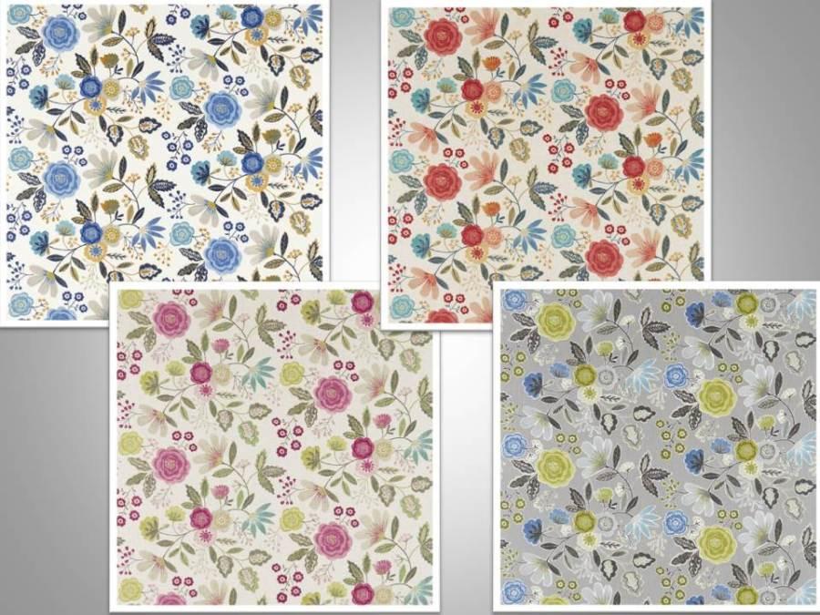 Telas de flores Harlequin - Villalba Interiorismo