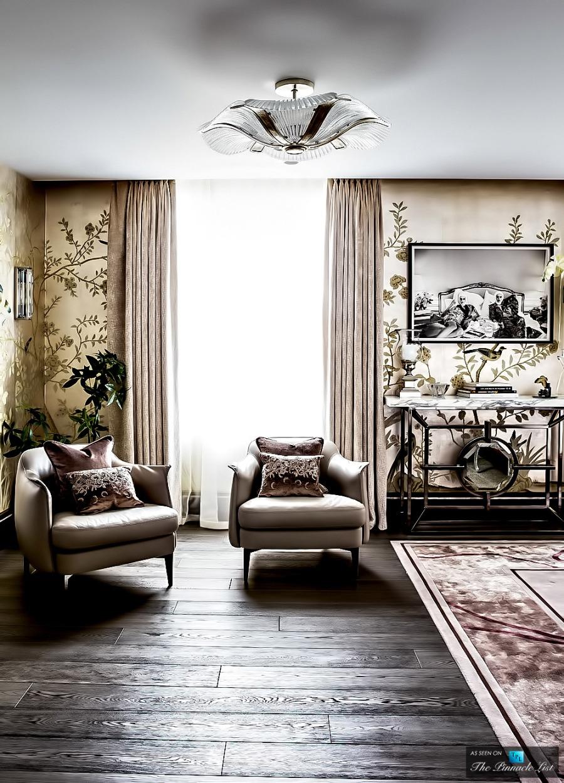 Zona de relax de lujo - Villalba Interiorismo
