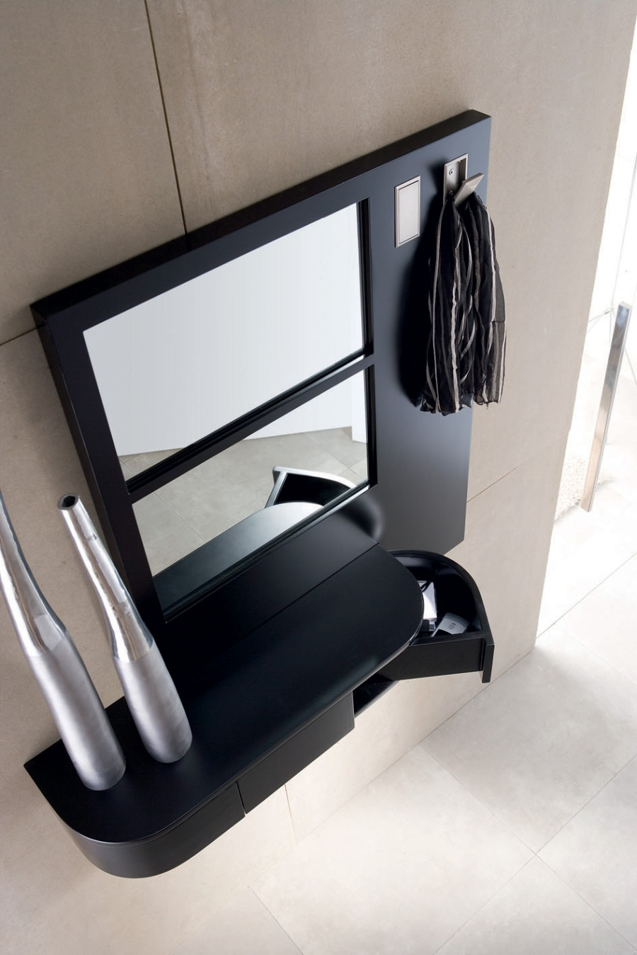 Cajón con espejo - Villalba Interiorismo