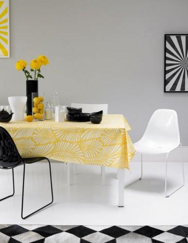 Cocina con amarillo - Villalba Interiorismo