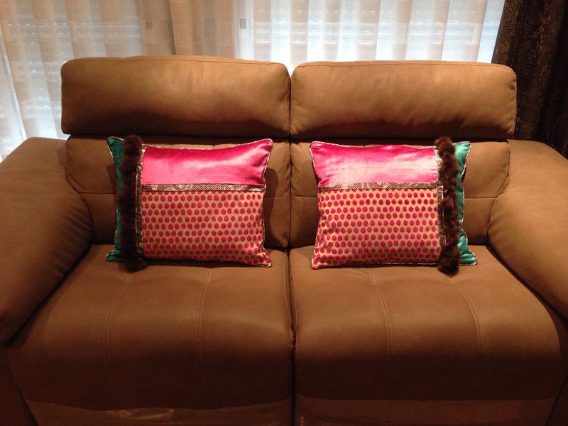 Cojines sofá - Villalba Interiorismo (2)