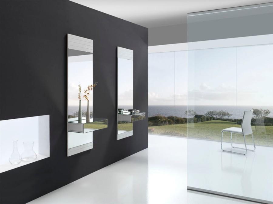 Espejo con cajón - Villalba Interiorismo