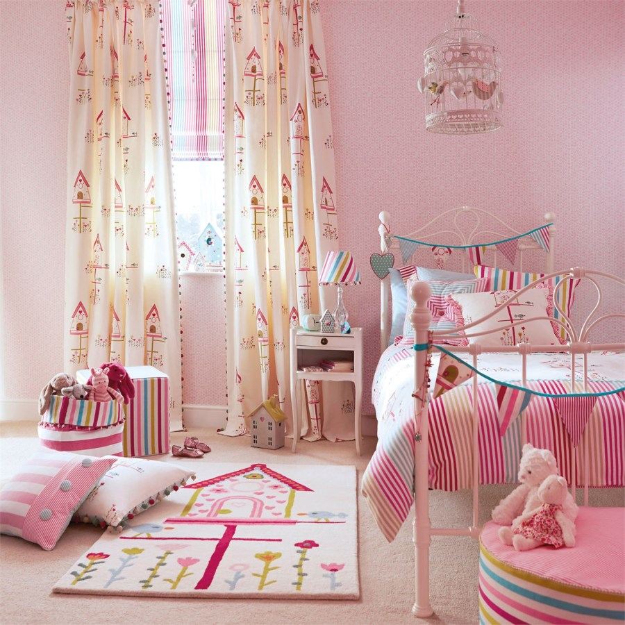 Habitación niña Harlequin - Villalba Interiorismo