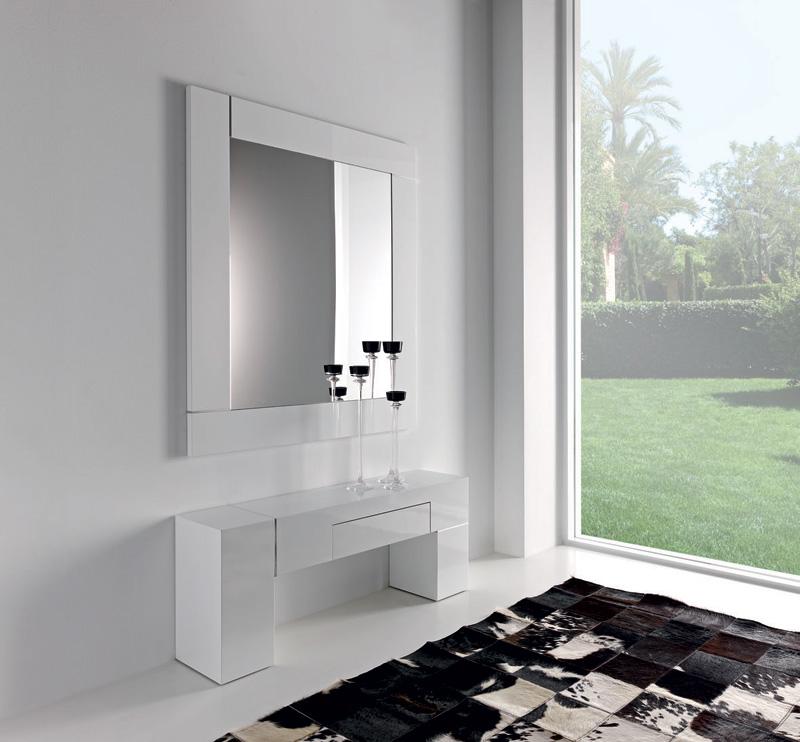 Mueble entrada con espejo (2) - Villalba Interiorismo