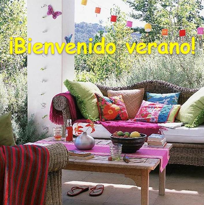 Bienvenido verano - Villalba Interiorismo