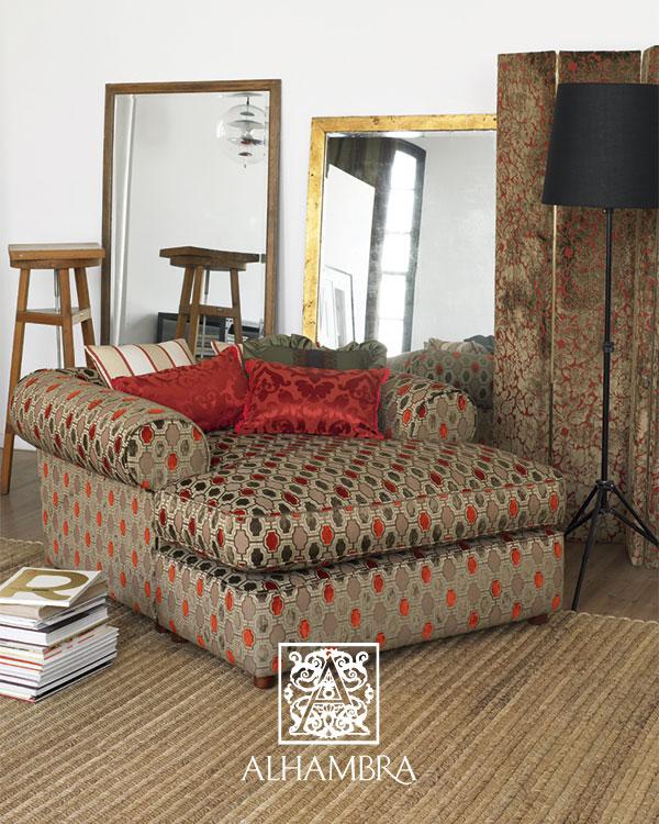 Cojines en rojo - Villalba Interiorismo (2)