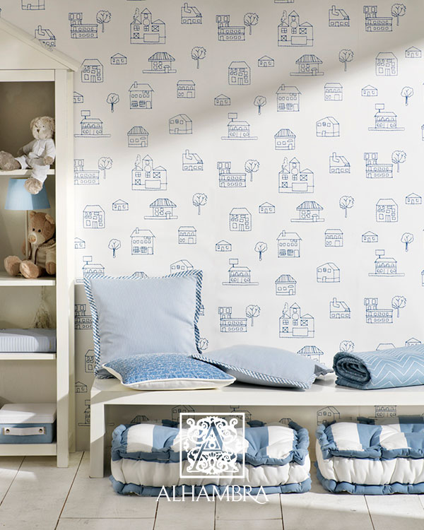 Cojines habitación niños - Villalba Interiorismo