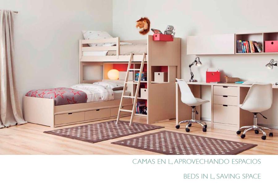 Habitación niños compartida - Villalba Interiorismo (3)