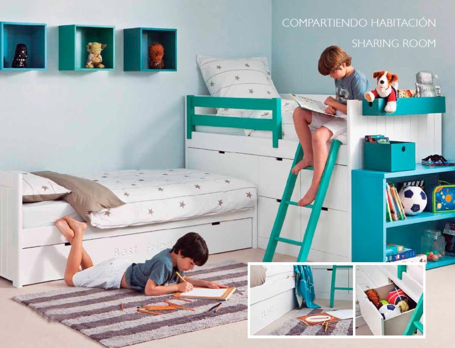 Habitación niños compartidas - Villalba Interiorismo (2)