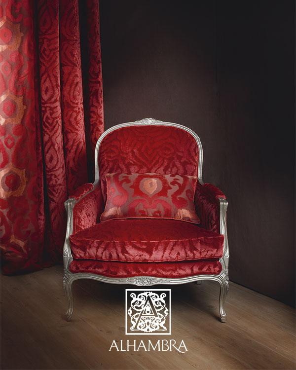 Sillón rojo - Villalba Interiorismo (2)