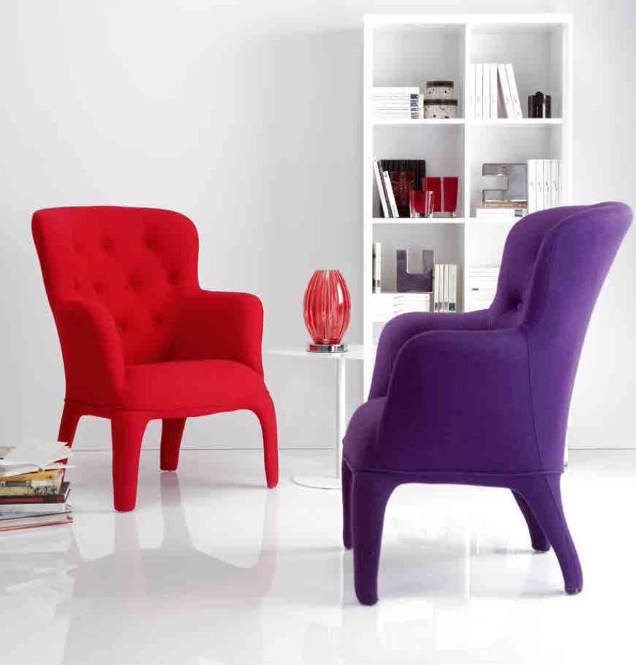 La roja de moda villalba interiorismo - Sillones de decoracion ...