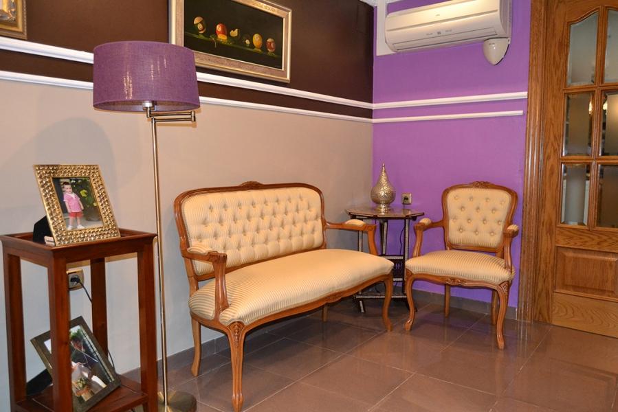 Sofá y sillón Luis XV - Villalba Interiorismo