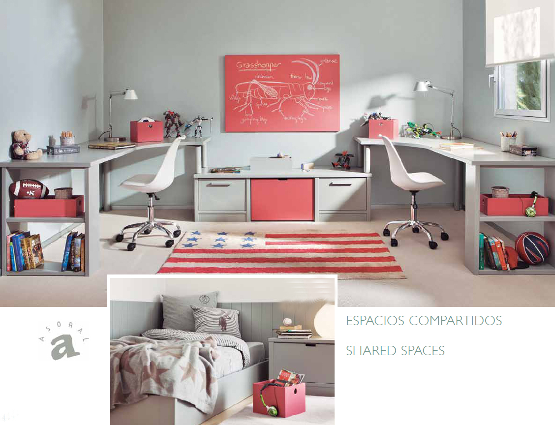 Habitaciones compartidas villalba interiorismo - Villalba interiorismo ...
