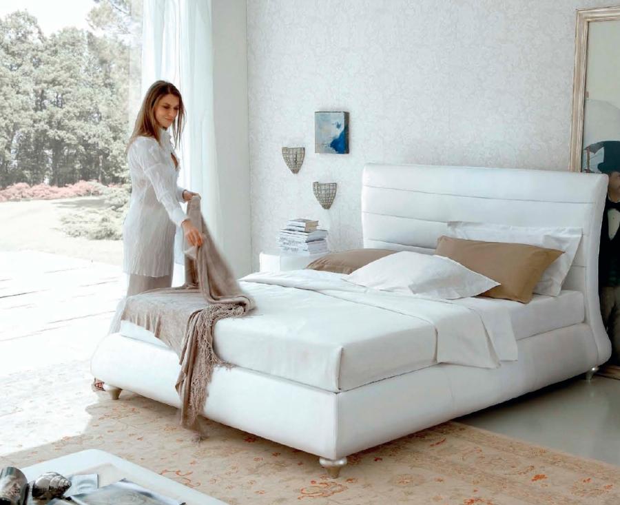 Cama blanca - Villalba Interiorismo