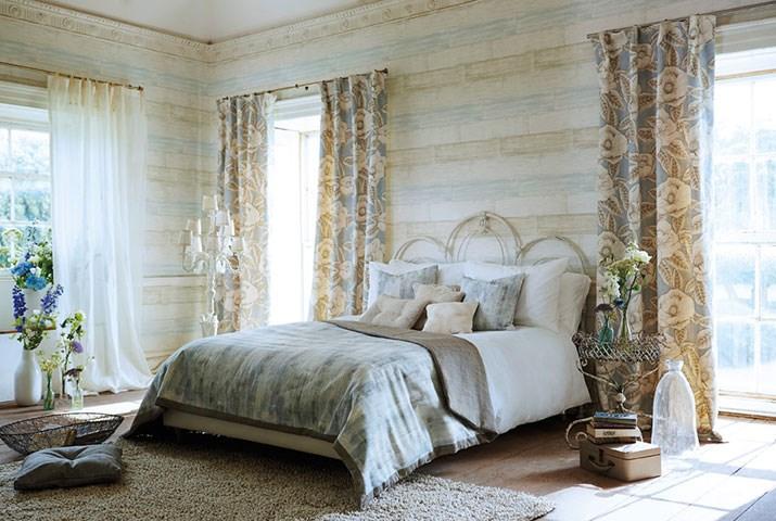 Dormitorio romántico - Villalba Interiorismo