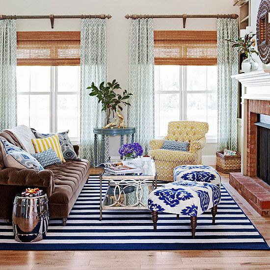 Salón en azul - Villalba Interiorismo (3)