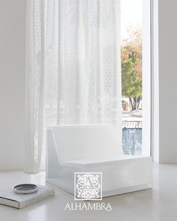 Visillo blanco - Villalba Interiorismo (2)