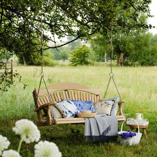Relax en el jardín, campo o playa – Villalba Interiorismo