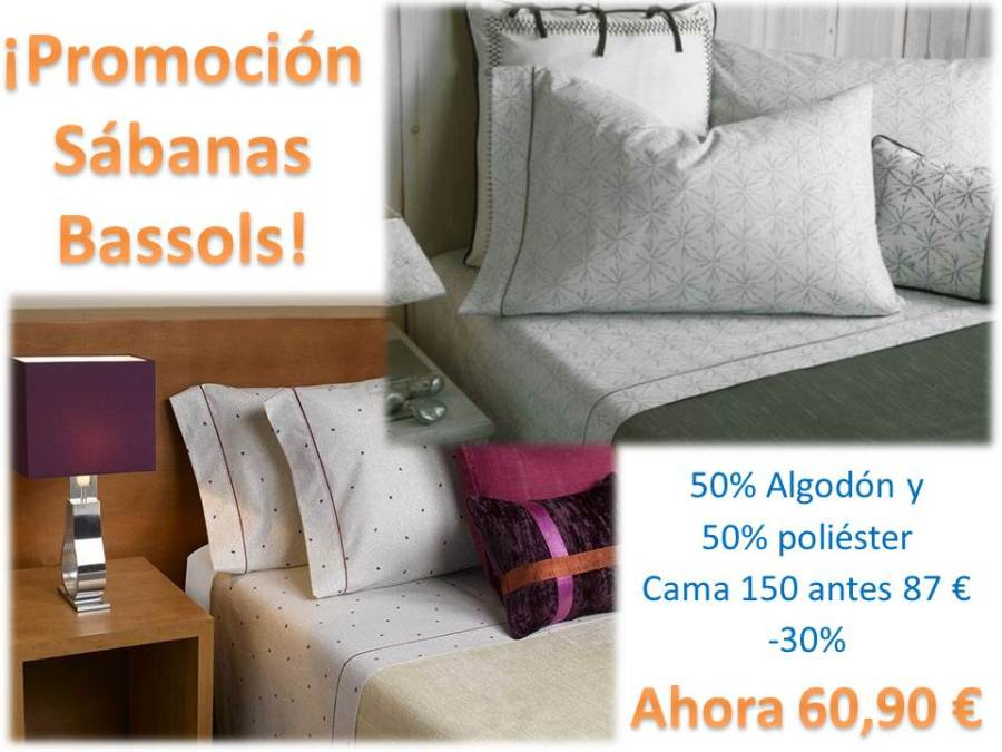 Promoción sábanas Bassols 2 - Villalba Interiorismo