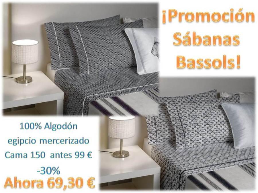 Promoción sábanas Bassols - Villalba Interiorismo