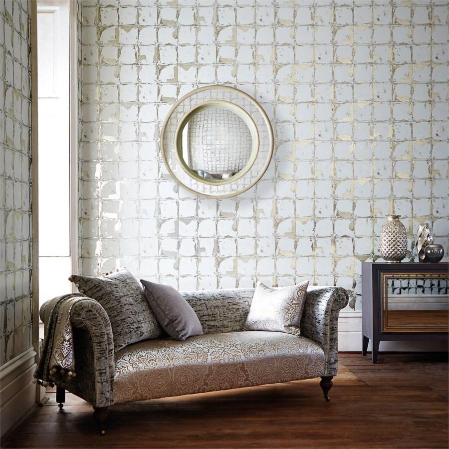 Espejo en el salón - Villalba Interiorismo (2)