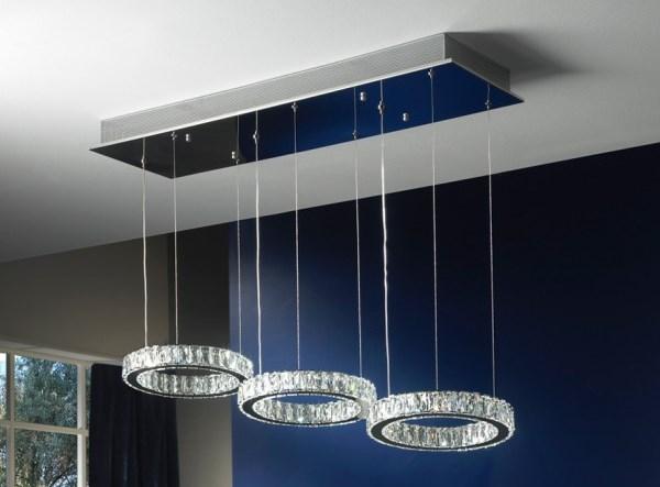 4 l mparas modernas con estilo villalba interiorismo - Lampara para comedor techo ...