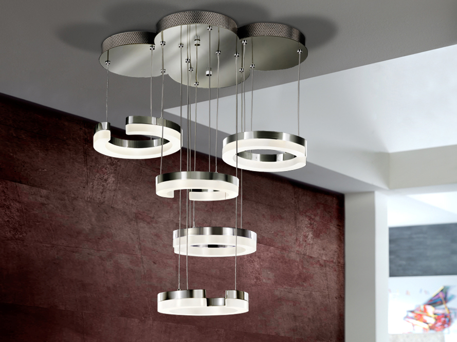 4 l mparas modernas con estilo villalba interiorismo - Lamparas de techo de led ...