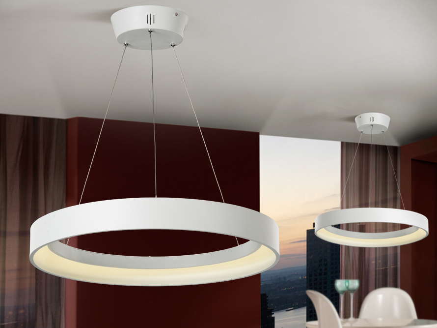 4 l mparas modernas con estilo villalba interiorismo - Lamparas colgantes minimalistas ...