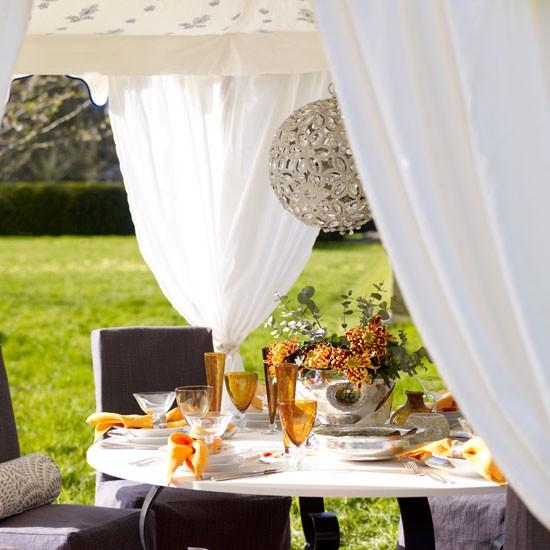 Mesa vestida para el exterior - Villalba Interiorismo (2)