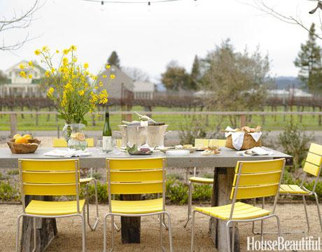 Mesa vestida para el exterior - Villalba Interiorismo (3)