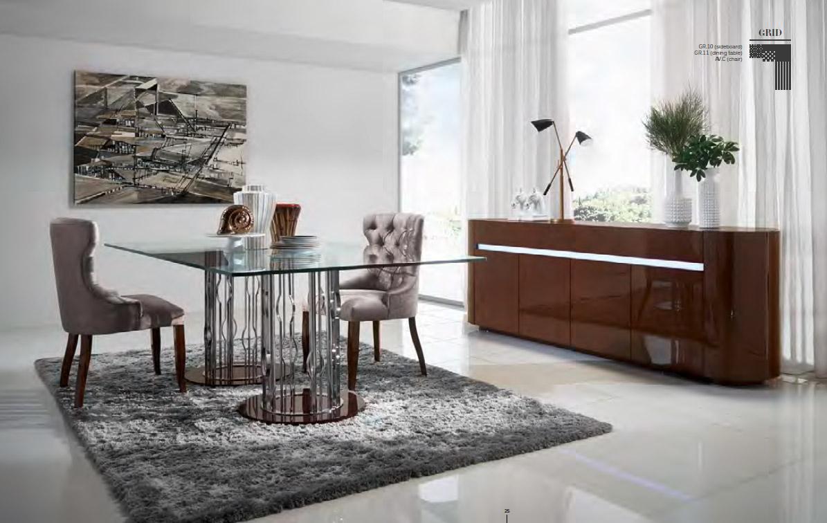 Un mueble de comedor moderno y elegante villalba for Muebles modernos para cocina comedor